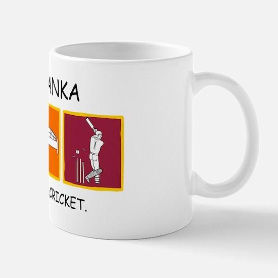 Eat,sleep,cricket Mugs