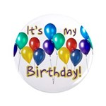 """It's My Birthday 3.5"""" Button (100 pack)"""