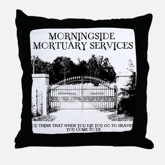 Cute Scary Throw Pillow