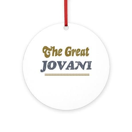 Jovani Ornament (Round)
