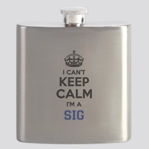 I can't keep calm Im SIG Flask