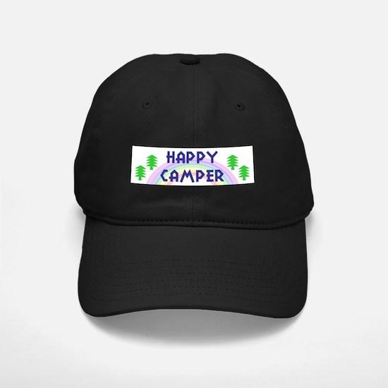 """Happy Camper"" Baseball Hat"