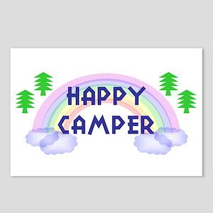 """Happy Camper"" Postcards (Package of 8)"