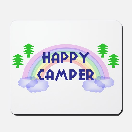 """Happy Camper"" Mousepad"