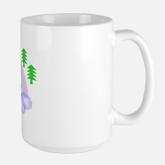 """Happy Camper"" Large Mug"