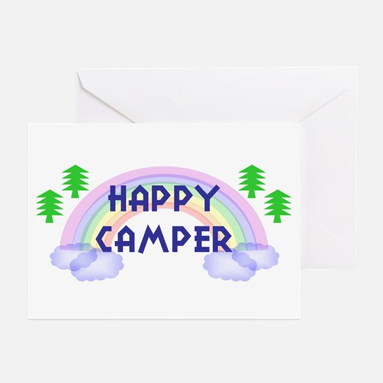 """""""Happy Camper"""" Greeting Cards (Pk of 10)"""