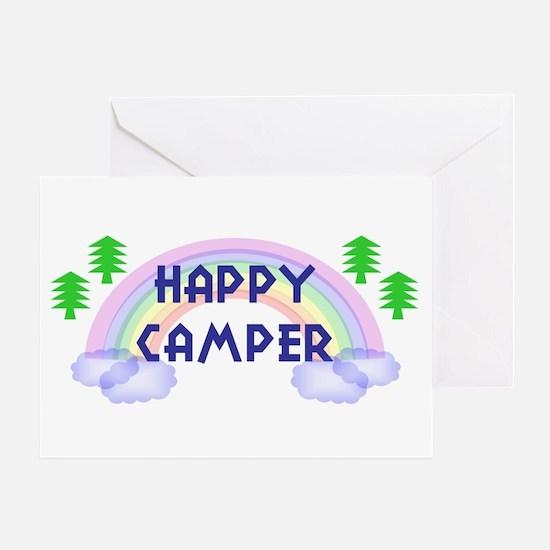 """Happy Camper"" Greeting Card"