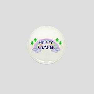 """""""Happy Camper"""" Mini Button"""