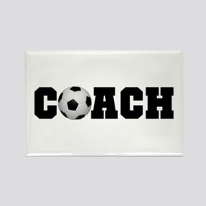 Soccer Coach Rectangle Magnet