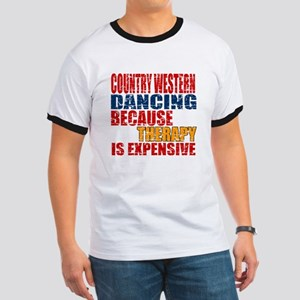 Country Western dancing Because Therapy I Ringer T