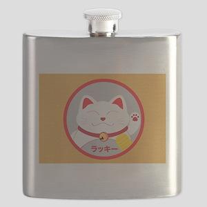 Lucky cat Flask