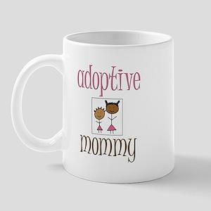Pink Adoptive Mommy Mug
