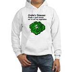 Crohn's Disease Veggie Hooded Sweatshirt