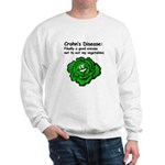 Crohn's Disease Veggie Sweatshirt