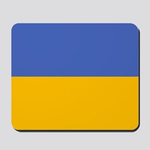 """Ukraine Flag"" Mousepad"