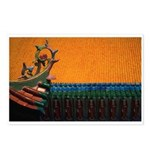 Buddhist Tile Work Postcards (Package of 8)