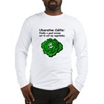 Ulcerative Colitis Veggie Long Sleeve T-Shirt