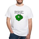 Ulcerative Colitis Veggie White T-Shirt