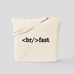breakfast HTML Tote Bag