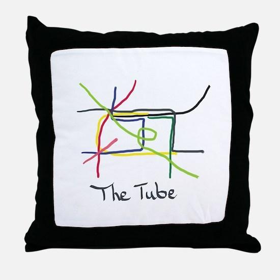 Cute Tube Throw Pillow