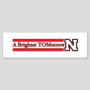 A Brighter TOMorrow for Nebraska Bumper Sticker
