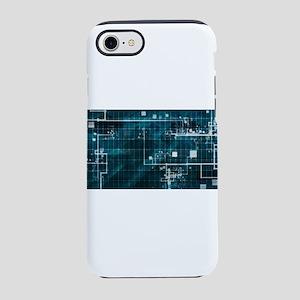 Digital Surveillan iPhone 8/7 Tough Case