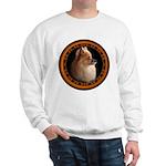 Pomeranian Sweatshirt Small Dog Art Sweatshirt