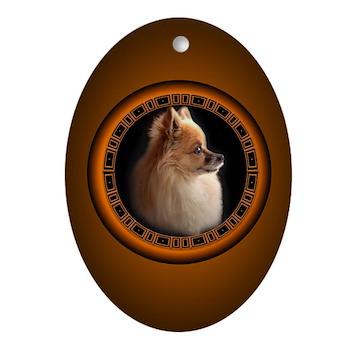 Pomeranian Dog Ornament Small Dog Keepsakes Pomeranian Gifts T
