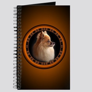 Pomeranian Dog Journal / Notebook Small Dog Gifts