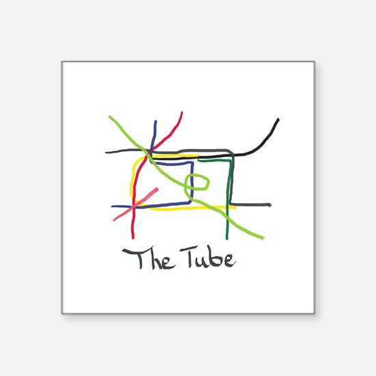 The Tube Sticker