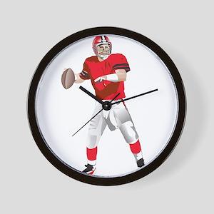 American football player Wall Clock
