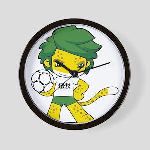 South Africa mascot zakumi Wall Clock