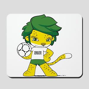 South Africa mascot zakumi Mousepad