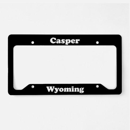 Casper WY License Plate Holder