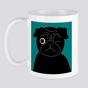 Wink, the Pug Mug