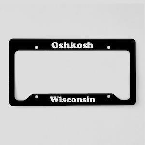 Oshkosh WI License Plate Holder