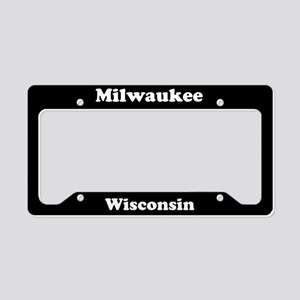 Milwaukee WI License Plate Holder