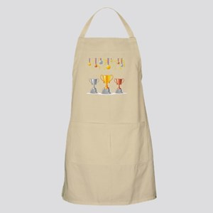 Trophies medals art Apron