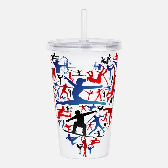 Athletic player made h Acrylic Double-wall Tumbler