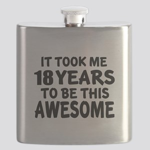 18 Years To Be This Awesome Flask
