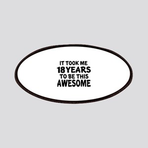 18 Years To Be This Awesome Patch