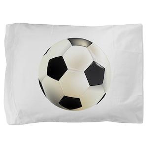 Beautiful soccer Pillow Sham