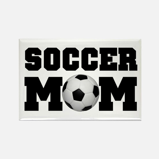 Soccer Mom Rectangle Magnet (100 pack)