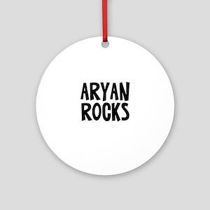 Aryan Rocks Ornament (Round)