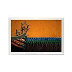 Buddhist Tile Work Rectangle Magnet (100 pack)