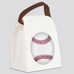 Baseball ball Canvas Lunch Bag