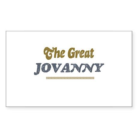 Jovanny Rectangle Sticker