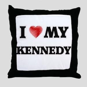 I love my Kennedy Throw Pillow