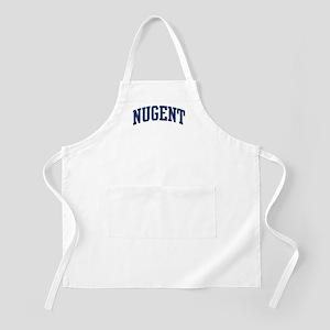 NUGENT design (blue) BBQ Apron