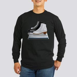 Ice hockey shoes icons Long Sleeve T-Shirt